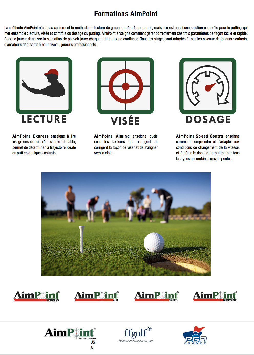 Formations Aimpoint